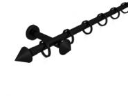 Magnetgarnitur mit Kegel 1-lfg. Schwarz